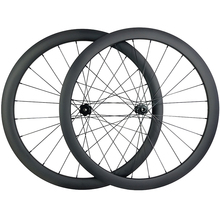 1400g 700c 42mm asymmetric road disc carbon wheels TUBELESS TAPELESS center lock wheelset UD 3K 12K Twill 12X100 15X100 12X142