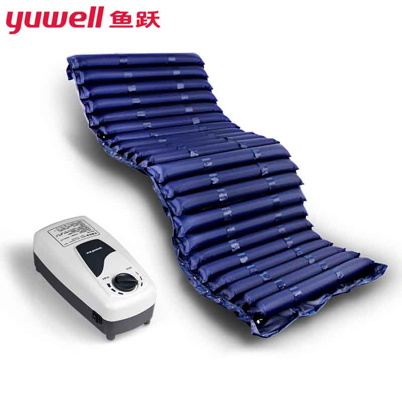 Yuwell Alternating Pressure Mattress Inflatable Hospital Sickbed Massage Pad Anti Decubitus Prevent Bedsores with Electric Pump new arrival blue color air mattress alternating pressure pump pad medical bed overlay hospital fit for patient