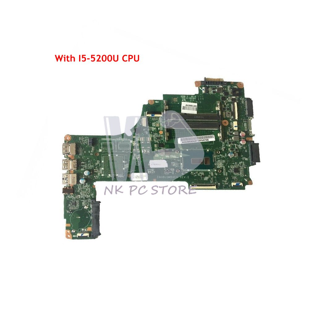 NOKOTION For <font><b>Toshiba</b></font> <font><b>Satellite</b></font> <font><b>C55</b></font> S55 <font><b>C55</b></font>-C Laptop <font><b>Motherboard</b></font> SR23Y I5-5200U CPU A000388580 DA0BLQMB6E0 MAIN BOARD image