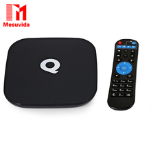 Mesuvida Sunvell Q-BOX TV Box 4 K H.265 1000 M Ethernet Amlogic S905 Quad-core WiFi BT 4.0 HD 2.0 Google Streaming TV Set-top Box