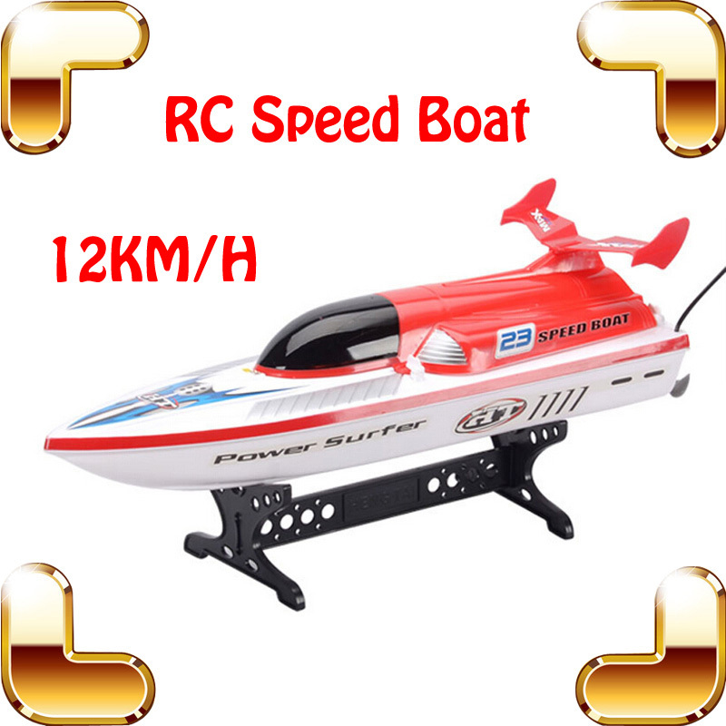 Summer Gift 4CH RC Big Speedboat Racing Machine Model Boat  Outdoor Radio Yacht Toy Office Decoration Sailing Game Drive Fun lucky john croco spoon big game mission 24гр 004