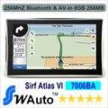 """Atacado Apical Atlas Sirf Vi 7 """"Carro de Navegação GPS Bluetooth + AV-IN Alta-velocidade Apical SiRF 800 Mhz DDR 256 M 8G Nandflash"""