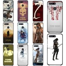 Soft Silicone Case for Honor 10 Lite Black Cover Nova 3i 3 Phone