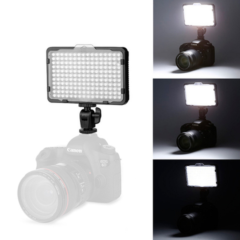 176 pcs LED Light for DSLR Camera Camcorder Continuous Light, Battery and USB Charger, Carry Case Photography Photo Video Studio Islamabad