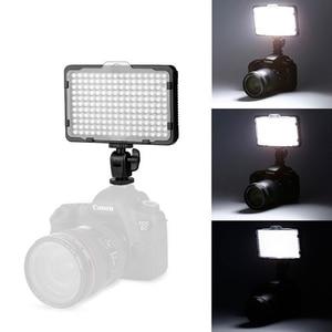 Image 4 - 176 pièces lumière LED pour appareil Photo reflex numérique caméscope lumière continue, batterie et chargeur USB, étui de transport photographie Photo vidéo Studio