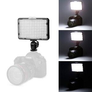Image 4 - Luce a LED da 176 pezzi per videocamera DSLR luce continua, batteria e caricatore USB, custodia per fotografia fotografia Studio Video