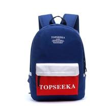 Япония и Южная Корея Сяоцин новая ткань Оксфорд сумка Дамы Досуг младших школьников простой женский рюкзак