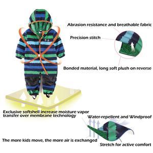 Image 5 - UmkaUmka barboteuse en coquille souple pour garçons, imperméable et coupe vent, vêtements pour bébés à capuche, mi saison, meilleure vente