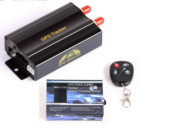 TK103B Vehicle GPS tracker Remote Control Anti-theft Car Alarm System Portoguese Platform Quad Band SD card GPS103 GPS GSM gps dualband gsm realtime anti theft vehicle tracker