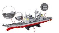 legoings military submarine sets ship boat Aircrafted Carrier warship model Building kits Blocks bricks Child kid toys