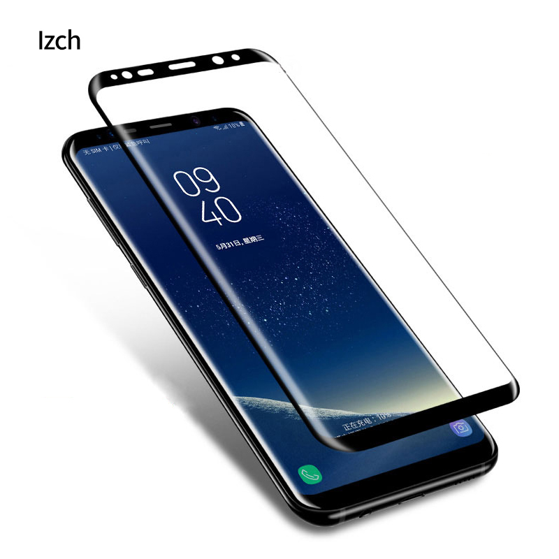 3D <font><b>Glasses</b></font> Full Cover Tempered <font><b>glass</b></font> For <font><b>Samsung</b></font> <font><b>Galaxy</b></font> Note 8 Screen Protector <font><b>S8</b></font> plus <font><b>S8</b></font> <font><b>Glass</b></font> Protective front back Film image