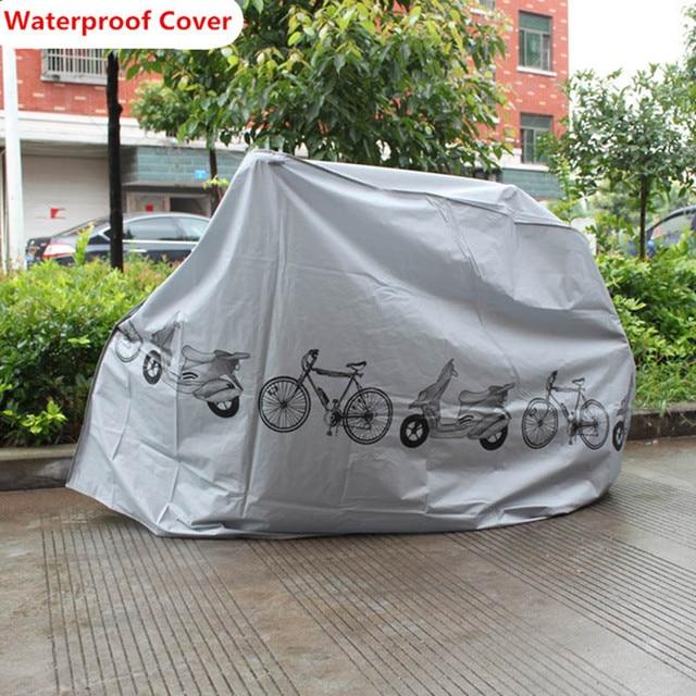 Водонепроницаемый чехол для велосипеда, открытый портативный скутер, мотоцикл, дождевик, пылезащитный чехол для велосипеда, велосипедные аксессуары