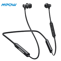 Mpow A4 Wireless Earphones APTX Stereo Noise Cancelling Headphones Waterproof Sport Earphones With Mic With 13H Playing Time