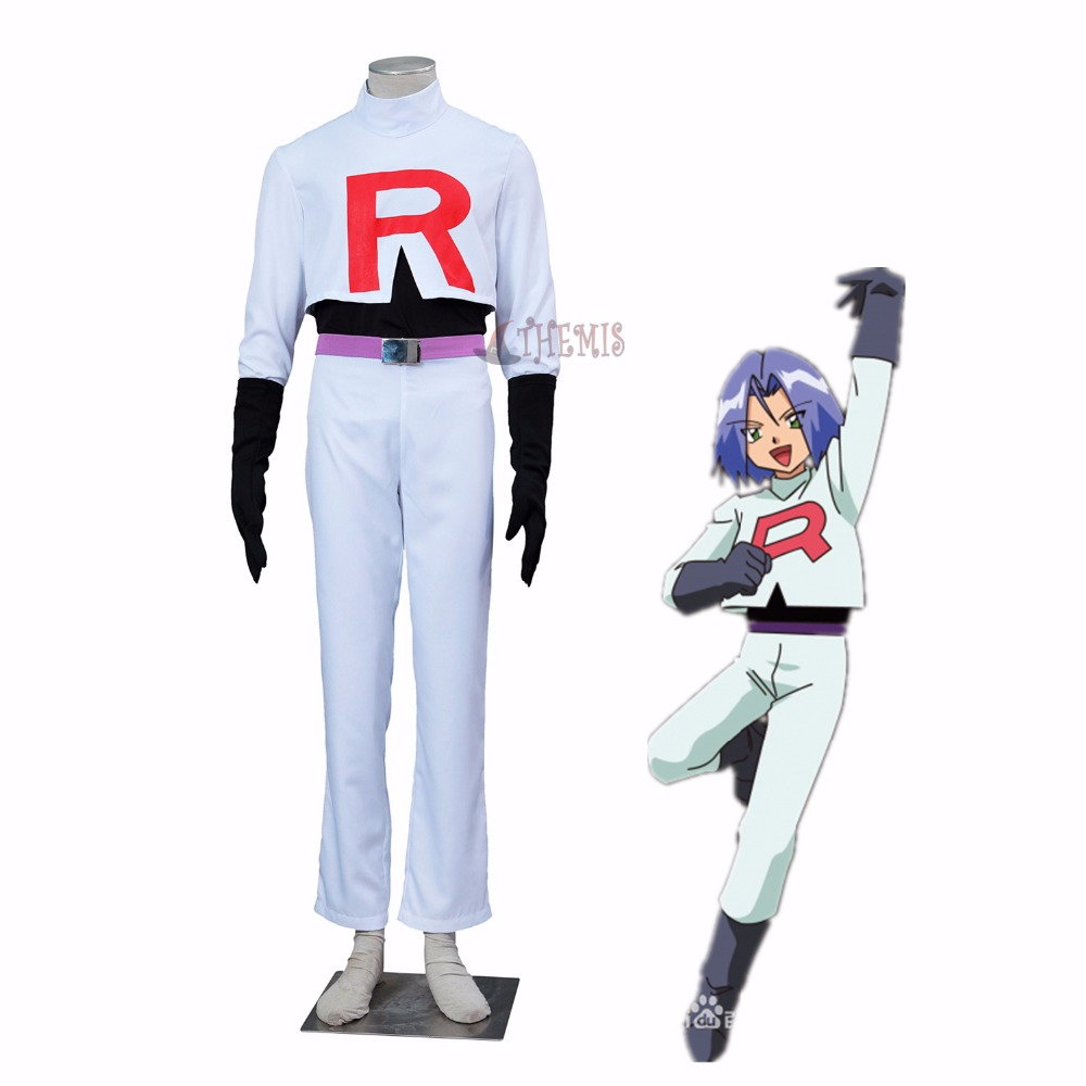 Athemis Pokemon Ash Ketchum cosplay Pocket Monster-James's Inkay cosplay costume
