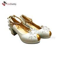Snow Angel cosplay shoe cardcaptor Sakura shoes women party new arrivla popular game CosDaddy