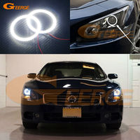 For Nissan Maxima 2010 2012 7th Generation A35 Excellent Angel Eyes Ultrabright Illumination Smd Led Angel