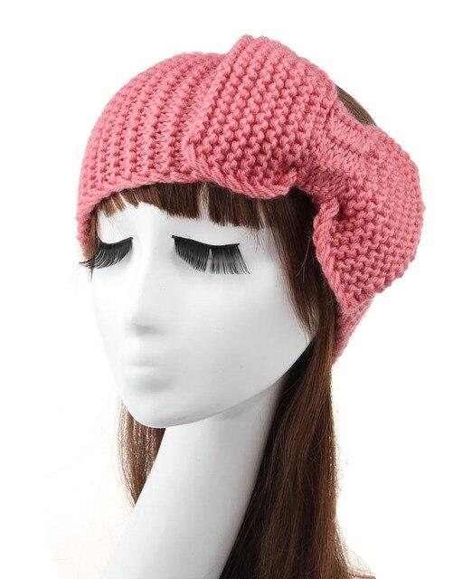 Großhandel Häkeln Stirnband Ohr wärmer Handgemachte Knit Stirnband ...