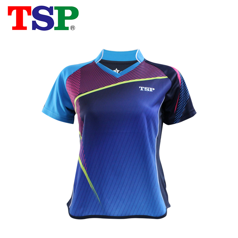 T-Shirts TSP Table-Tennis Jerseys Badminton Ping-Pong-Cloth for Men/women Short-Sleeve title=