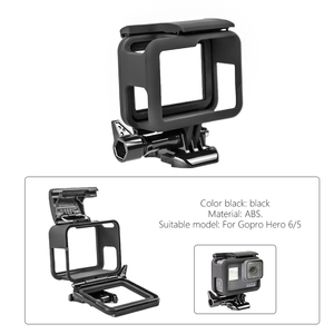 Image 5 - SnowHu for Gopro Hero 7 6 5 Accessories Waterproof Protection Housing Case Diving 45M Protective For Gopro Hero Camera LD08
