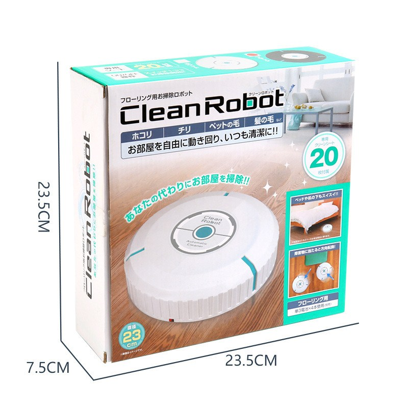 Home Auto Cleaner Robot Microfiber Smart Robotic Mop Floor Dust Sweeper Vacuum Cleaner Automatically  Household Cleaning Tool (2)