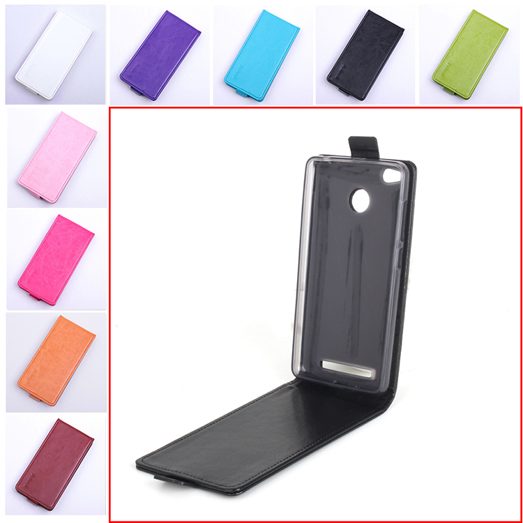 Luxury Flip Leather Cover Case for Xiaomi Redmi 3S 3 S Vertical Back Cover Phone Case for Xiaomi Redmi 3 S 3S Pro / Redmi 3 Pro