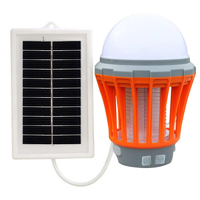 УФ Солнечный светодиодный электрическая ловушка для ошибки насекомых вредителей убийца комаров насекомых мухобойка Управление Номинальная Напряжение 5V Пластик простой современный 19FEB20 - Цвет: B