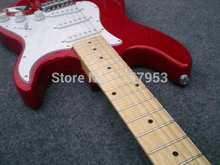 Wholesale2015 nueva st de la Guitarra Eléctrica en El Envío libre Elección 2 stratocaster Guitarra roja