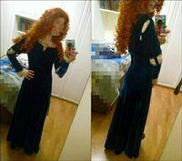 New Princess Merida Adult Costume Brave Merida Cosplay Dress Party Halloween For Female Costumes Custom Plus