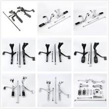 цена на Motorcycle Forward Control Pegs Levers Linkages For Harley Sportster XL 883 XL1200 Custom 04-13
