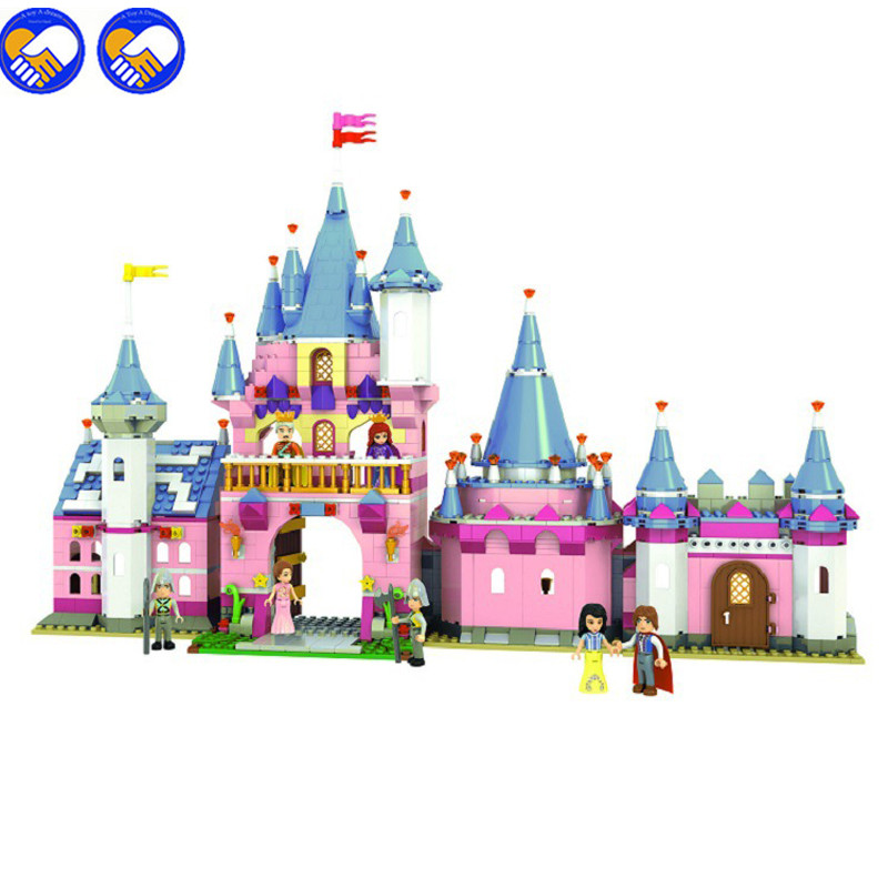 A toy A dream 900pcs 5006 The castle Snow White and the prince's  palace Assemble blocks of toys Girl's educational gift duncan bruce the dream cafe lessons in the art of radical innovation