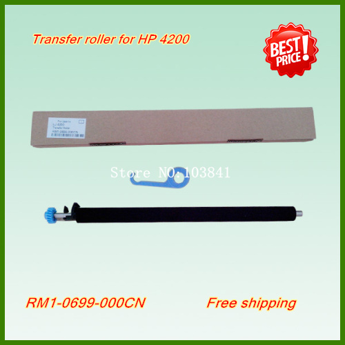 RM1-1110-000 New Transfer Roller For  HP 4015 4200 4250 4350 4300 4345 Printer fuser roller RM1-1110 compatible new fuser gear for hp 4250 4300 4350 rc1 3325 000 rc1 3324 000 10 pcs per lot