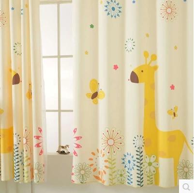 Aliexpress.com : Buy Cartoon Kids room window curtains for baby ...