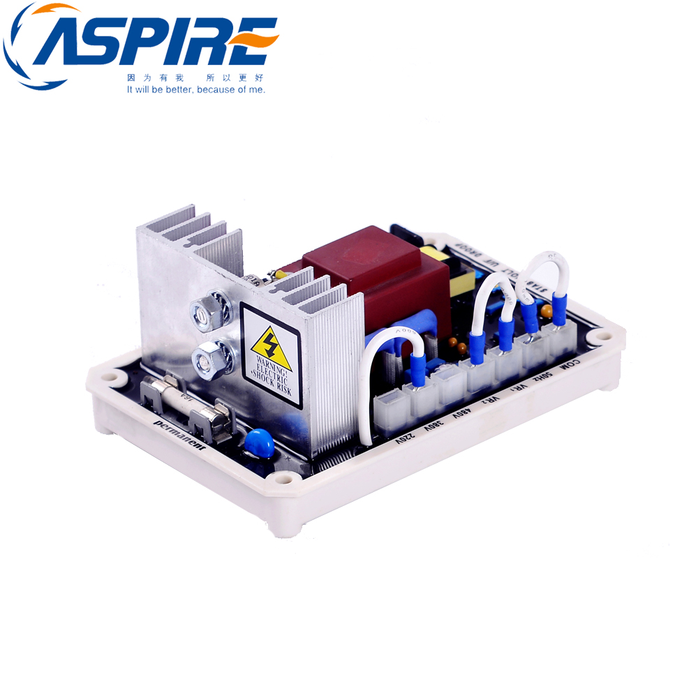 free shipping Diesel Generator Part AVR EA15A Universal Automatic Voltage Regulator free shipping 1 phase diesel generator avr suit for ask r180b ask r150b 220v 8kva automatic voltage regulator