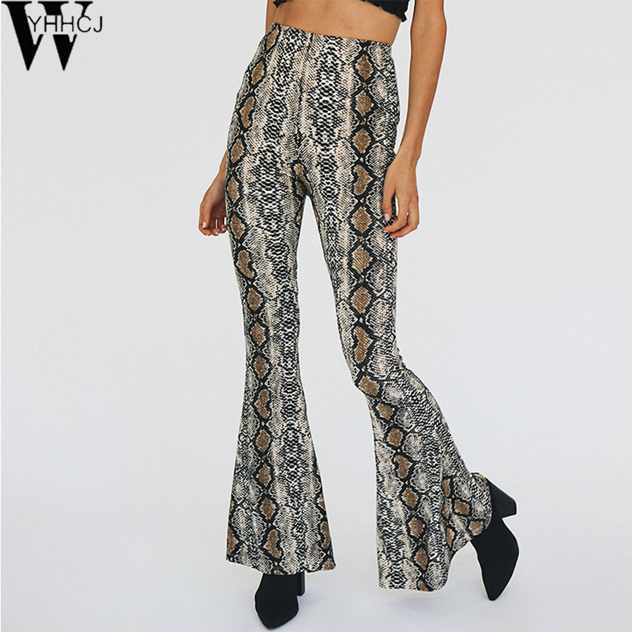 WYHHCJ Woman Wide Leg Pants Fashion serpentine Pants Loose Casual Trousers For Women Wide Legs Pants 2017 feminina