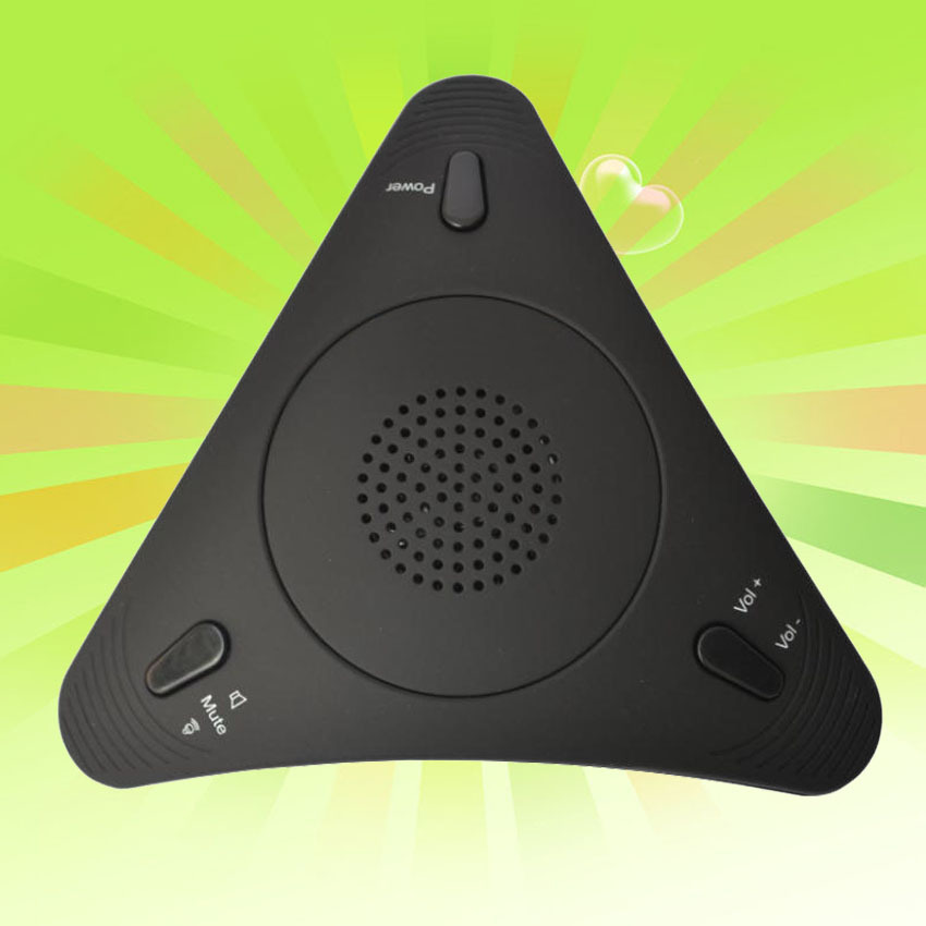 Hot Sale Black USB speaker / Interphone / video conference SKYPE