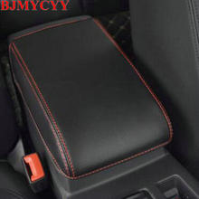 BJMYCYY Car-styling Interior trim for automobile armrest case decorative sleeve Accessories VW Volkswagen Passat B8 2016 17