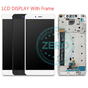 Image 3 - For Xiaomi Redmi Note 4 MediaTek LCD Display Frame Complete Touch Screen Panel Redmi Note4 Note 4 MTK LCD Digitizer Spare Parts