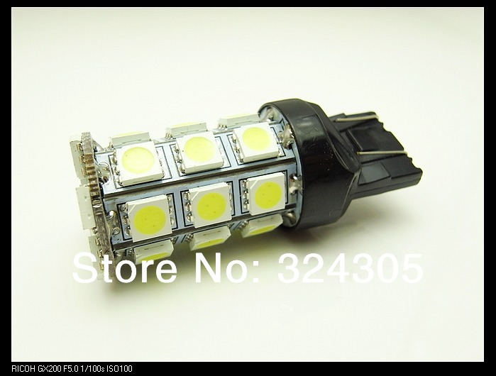 Подробнее о 2 x T20 7440 7443 5050 27 smd led W21/5W W21W Car auto stop Backup Reverse Rear Front signal Led bulb White Red blue yellow 12V 2pcs 30smd t20 7443 led bulb auto car tail light stop light backup reverse light free shipping white red yellow green blue