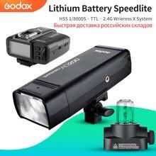 Godox – stroboscope Flash AD200 200Ws GN60 HSS, système X sans fil 2.4G intégré pour réaliser TTL et transmetteur X1 pour C/N/S/F/O