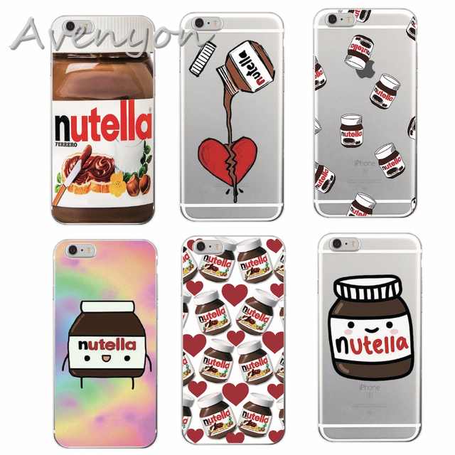 a8d5ec8d2c6 Tumblr Nutella Case For iPhone 7 7 Plus 6 6s Plus 5s SE Soft Silicone TPU  Clear with design Phone Back Cover Fundas Coque