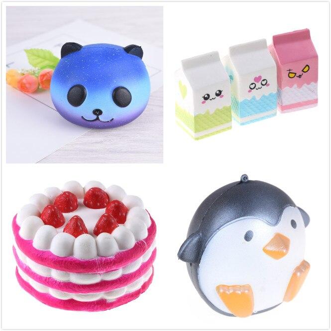 Stressabbau-spielzeug Neue Squeeze Squishys Galaxy Nette Panda Creme Duft Squishy Lustige Gadgets Anti Stress Neuheit Anti-stress-spielzeug Geschenk Schleim Spielzeug