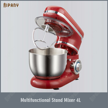 NW6178 Kitchen Food Stand Mixer Stainless Steel Bowl Cream Egg Whisk Blender Cake Dough Bread Mixer Maker Machine 1200W 4L multifunctional electric dough mixer eggs blender 4 2l kitchen stand food milkshake cake dough maker kneading machine 220v 800w