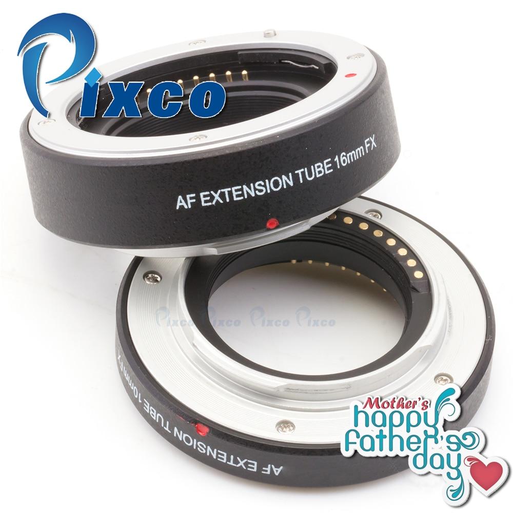 Pixco Autofocus Macro Extension Tube for Fujifilm FX Camera