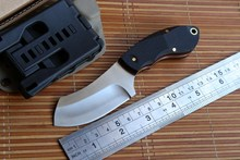 JUFULE Boke OEM small fixed blade knife N690 Blade KYDEX Sheath hunting straight camping survival outdoor EDC kitchen tool knife