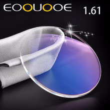 EOOUOOE Brand 1.61 Index Resin Aspheric Glasses Myopia Hyperopia Presbyopia Eyeglasses Lente Gafas Prescription Lenses Transpare