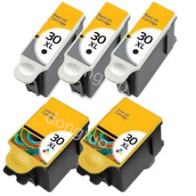 5 Ink  30 XL Compatible for OFFICE 2150 2170 HERO 3.1 5.1 ESP 1.2 3.1 3.1S 3.2 printer