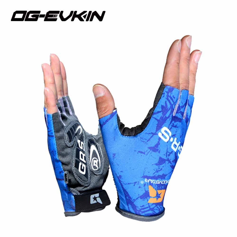 2018 NOUVEAU demi doigt gants d'équitation Vtt Sport antidérapant équipement homme femmes cyclisme gants Printemps et d'été Lycra 003