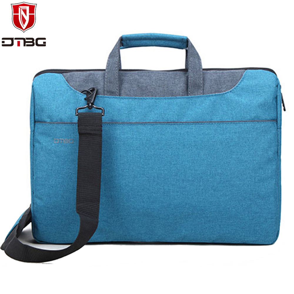 DTBG Briefcase 15.6 Inch Laptop Bag for Men Women Computer Handbag for Apple Macbook Pro Super Light Portable KUMON Shoulder Bag