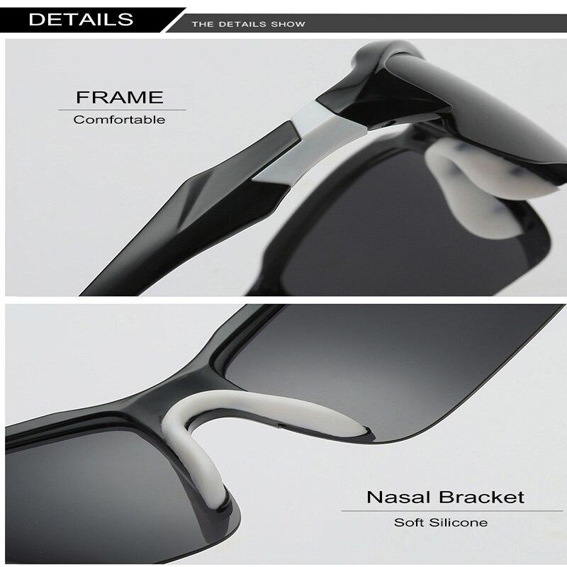 Óculos de Sol Polarizada Pesca da Mandíbula Ciclismo