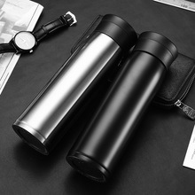 Food Thermos Mug Bottle for Water Thermocouple Term  Cups Tea Cafe Vacuum 304 Stainless Steel Car Business 550ml High Capacity